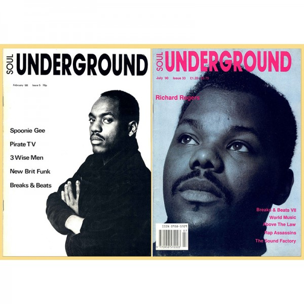Soul Underground covers